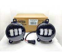 Фары противотуманные LED Лада Приора / Газель LIME + 6000K (2-х режимные)