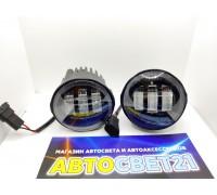 Фары противотуманные Nissan / Ниссан / Infiniti LED светодиодные 3000K + 6000K (2-х режимные)