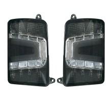 Фонари задние LED светодиодные Нива / Нива Урбан Черные