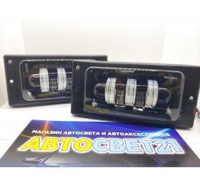 Фары противотуманные LED ВАЗ 2110-2115 60Вт 5 линз SalMan
