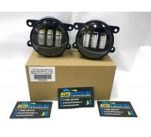 Фары противотуманные LED Рено / Renault 3000K + 6000K (2-х режимные)