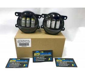 Фары противотуманные LED Форд / Ford 3000K + 6000K (2-х режимные)