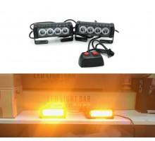 Стробоскоп FEDERAL SIGNAL 4 LED 12/24V 36Вт (Оранжевый)