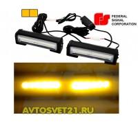 Стробоскоп FEDERAL SIGNAL COB 12/24V 48Вт (Оранжевый)
