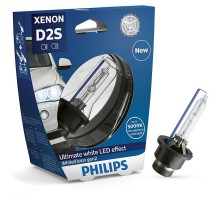 Лампа ксеноновая D2S Philips WhiteVision Gen2 5000K (+120%)