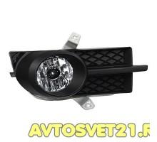Фары противотуманные Шевроле Авео Т-250 Седан 2006-2012 / Chevrolet Aveo c рамками