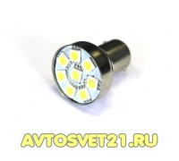 Лампа светодиодная P21W 8SMD 12V