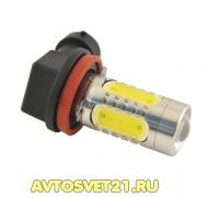 Лампа светодиодная Н11 7.5w с Линзой