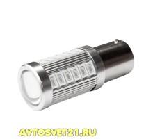Лампа светодиодная P21/5W 33SMD Красная