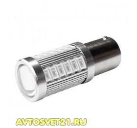 Лампа светодиодная P21W 33SMD Красная