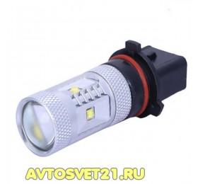 Лампа светодиодная P13W 30w CREE с Линзой