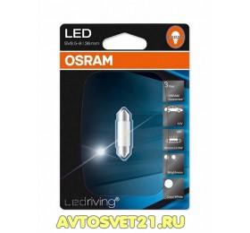 Лампа светодиодная c5w Osram Cool White 36мм