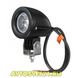Универсальная Светодиодная фара-прожектор 10W 10-30V
