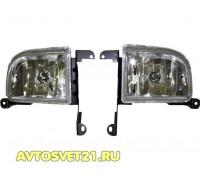 Фары противотуманные Шевроле Лачетти Седан / Chevrolet Lacetti Sedan