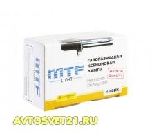 Лампа Ксеноновая MTF H1 4300K