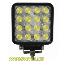 Светодиодная фара-прожектор 48W 10-30V SLIM