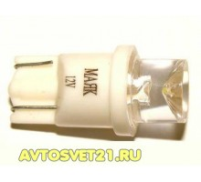 Лампа светодиодная w5w T10 1SMD Конус