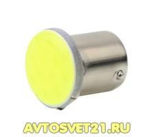 Лампа светодиодная P21/5W Cob 12V 2-конт.