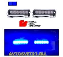 Стробоскоп FEDERAL SIGNAL 6 LED12/24V 48Вт (Синий)