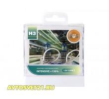 Автолампы H3 SVS Intensive +130%