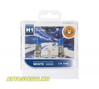 Автолампы H1 SVS White 5000K