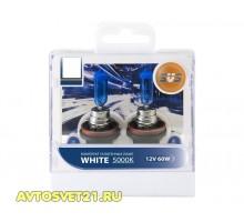 Автолампы H8 SVS White 5000K