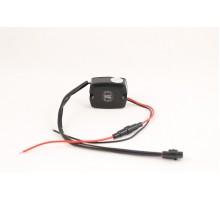 Стабилизатор напряжения для светодиодов и ДХО 12-24В с предохранителем
