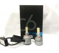 Светодиодные лампы C6S H3 Белый+Желтый 2 режима