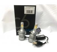 Светодиодные лампы C6S H4 Белый+Желтый 2 режима