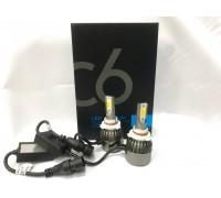 Светодиодные лампы C6S HB3 Белый+Желтый 2 режима