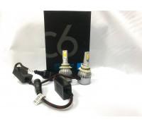 Светодиодные лампы C6S HB4 Белый+Желтый 2 режима