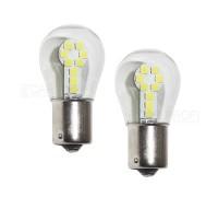 Лампа светодиодная P21W 18SMD 3030 Белая