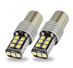 Лампа светодиодная P21W 15SMD с Обманкой