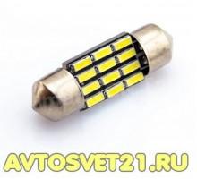 Лампа светодиодная c5w 12smd
