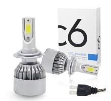 Светодиодные лампы C6 H7 3800Lm
