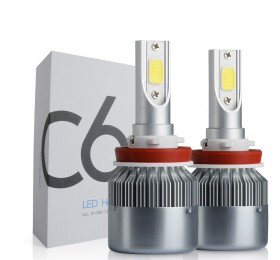 Светодиодные лампы C6 H11/Н8 3800Lm