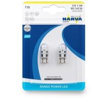 Лампы светодиодные LED w5w T10 Narva LED 6000K 0.6W