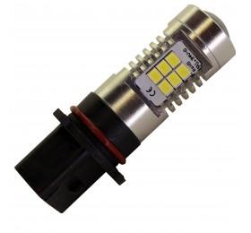 Лампа светодиодная P13W 21LED с Линзой