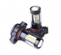 Лампа светодиодная PSX24W 16LED с Линзой