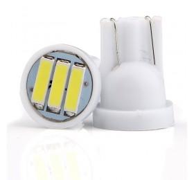 Лампа светодиодная w5w T10 3SMD 7014