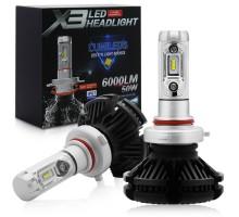 Светодиодные LED лампы X3 HB4 50W 6000Lm
