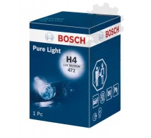 Автолампа H4 BOSCH Pure Light