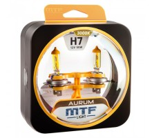 Автолампы Н7 MTF Aurum