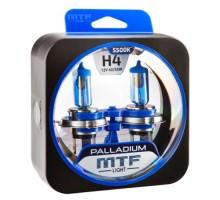 Автолампы Н4 MTF Palladium