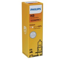 Автолампа H3 PHILIPS +30%