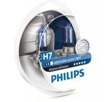 Автолампы H7 PHILIPS Diamond Vision 5000K