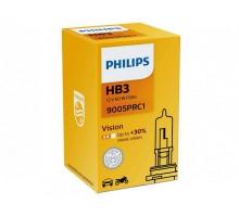 Автолампа HB3 PHILIPS +30%