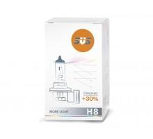Автолампа H8 SVS Standart +30%