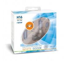Автолампы H16 SVS White 5000K