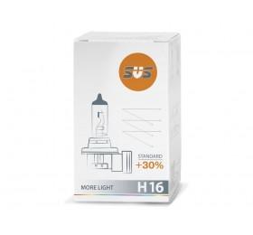 Автолампа H16 SVS Standart +30%